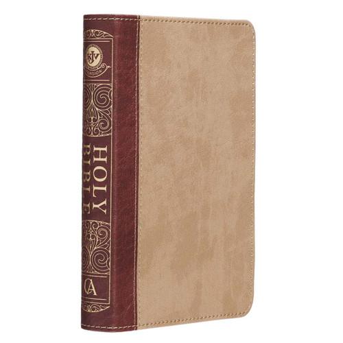Kinh Thánh Tiếng Anh - Bản King James Version KJV Compact - Bìa Nâu - KJV143