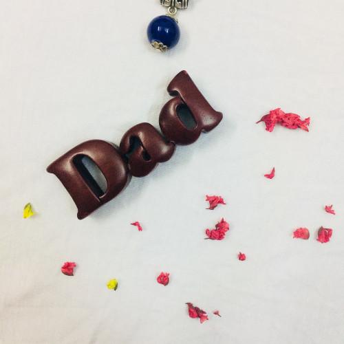 Gỗ trang trí để bàn - Chữ Gỗ Đứng DAD