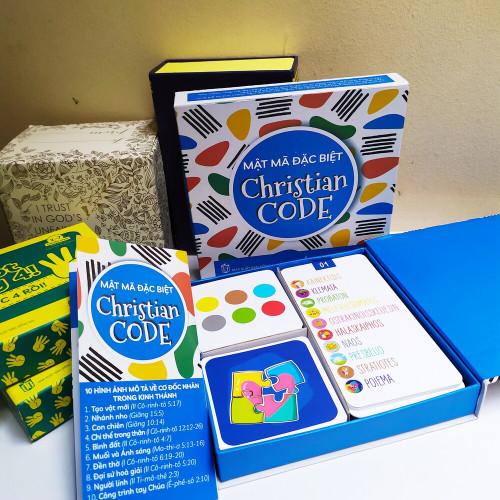Bộ Thẻ Game - Mật Mã Đặc Biệt - Christian Code