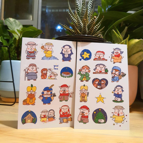Bộ Sticker Onesheep - Christmas Story - OS-0816