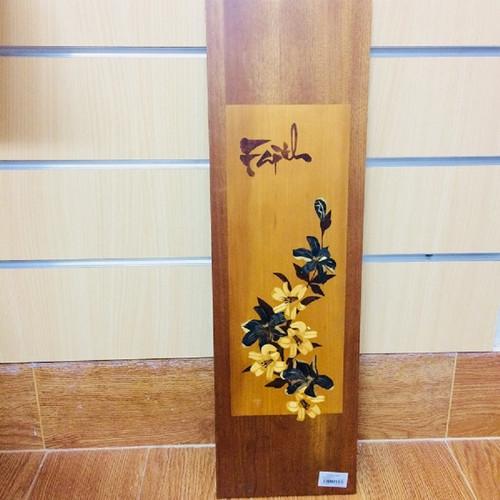Tranh Gỗ Faith Hoa Cỏ - TG-009