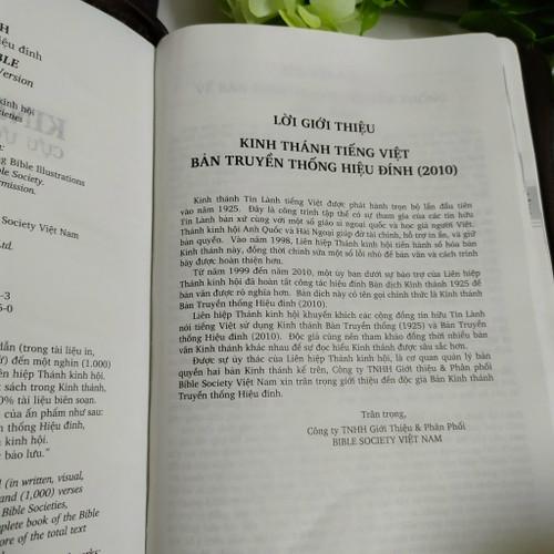 Kinh Thánh Tiếng Việt - Bản Truyền Thống Hiệu Đính - Bìa Dây Kéo (Lớn) - KTTV-0701