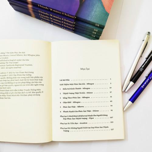 Sách Tìm Kiếm Phúc Âm Thật: Thịnh Vượng Chăng? - VPHG-29