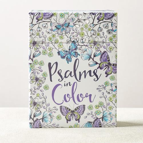 Card Tô Màu Cơ Đốc - Psalms In Color