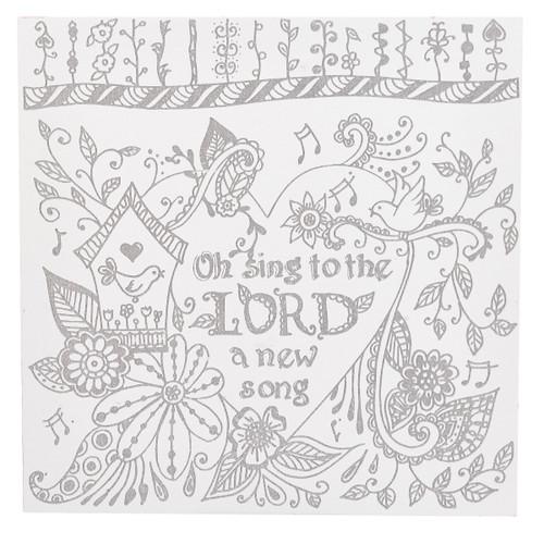 Bộ Bảng Tô Màu - Sing To The Lord - CLRW01