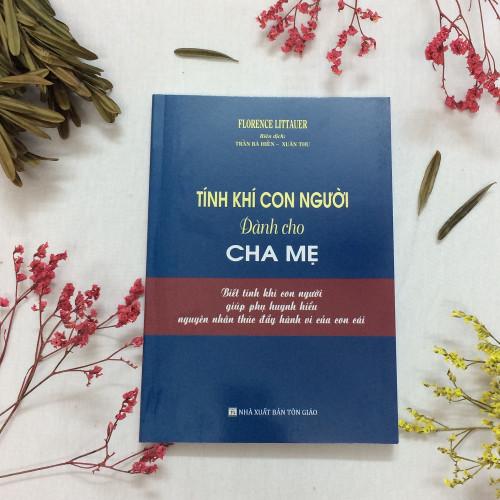 Sách Tính Khí Con Người Dành Cho Cha Mẹ - KG-XT-09