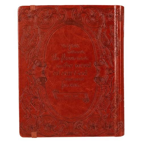 Kinh Thánh Tiếng Anh - Bản King James Version KJV - My Creative Bible - Bìa Da Màu Nâu - KTTA-000945