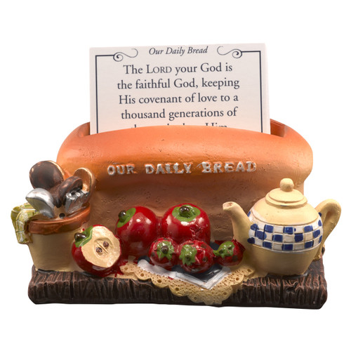 Hộp Bánh Mì Lời Hứa - Our Daily Bread Polystone Box - PR017