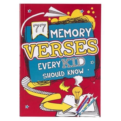 Sách 77 Câu Kinh Thánh Mọi Thiếu Nhi Cần Biết - 77 Memory Verses Every Kid Should Know - SA- KDS710