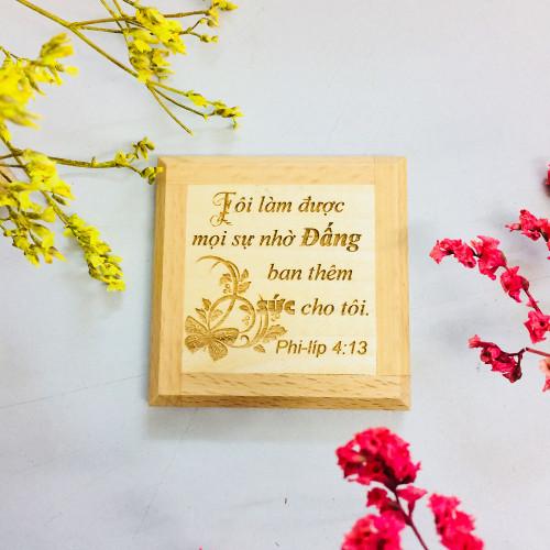 Nam Châm Dán Tủ Lạnh - Phi-líp 4:13 - NC-GO-02