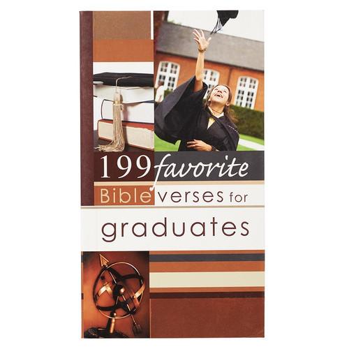 Sổ Tay Thông Điệp Cơ Đốc - 199 Favorite Bible Verses For Graduates - SO-FBV007