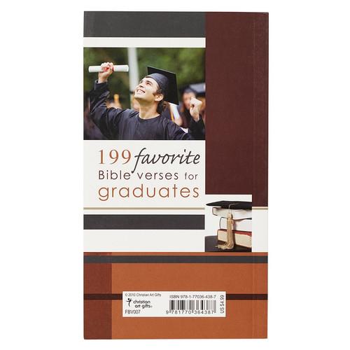 Sách Thông Điệp Cơ Đốc - 199 Favorite Bible Verses For Graduates - SA-FBV007