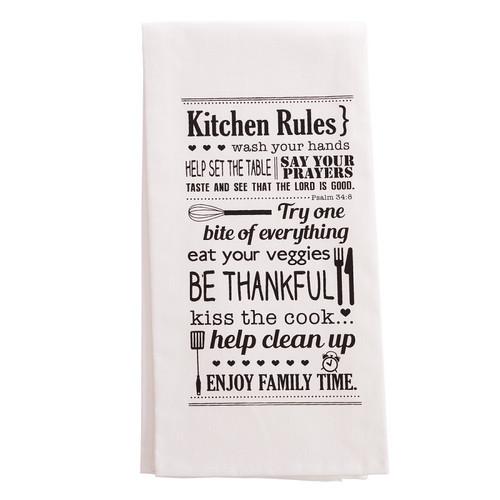 Khăn Trải Bàn - Kitchen Rules - KB-TWL005
