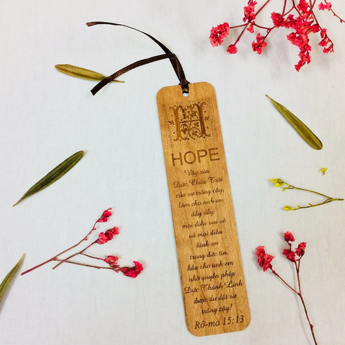 Bookmark Gỗ Lớn - Rô-ma 15:13 - BM-GK-L-16