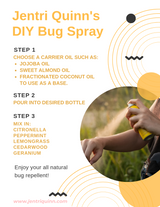 All Natural Bug Spray Recipe That Works (As Seen On TV)