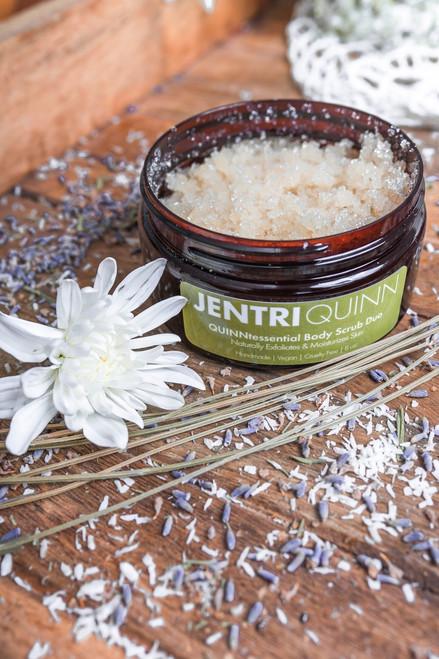 Jentri Quinn - QUINNtessential Body Scrub Duo (unscented) (8oz)