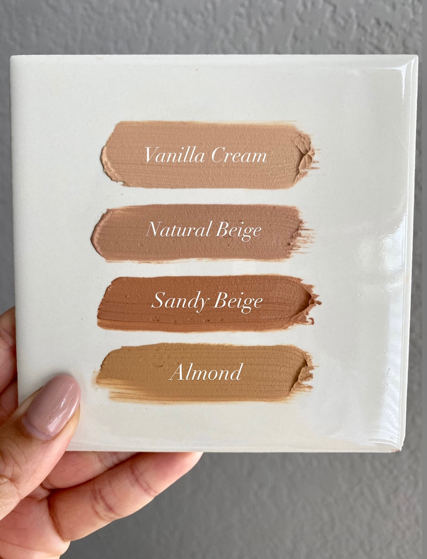Jentri Quinn -  Mineral Liquid Powder Foundation: Vanilla Cream