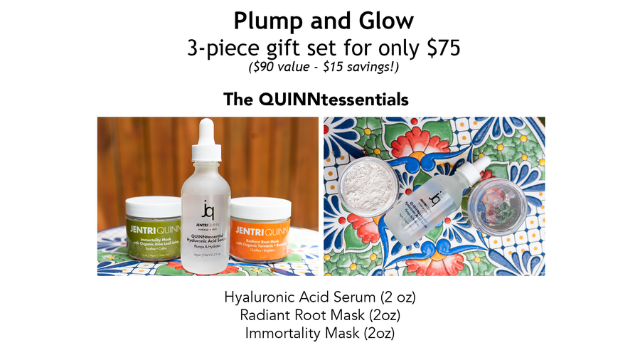 Jentri Quinn - Plump and Glow (QUINNtessential Gift Set)