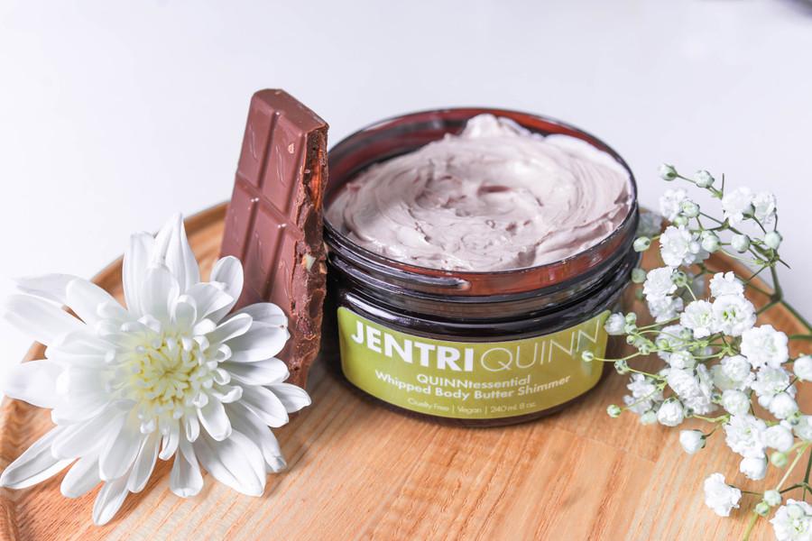 Jentri Quinn - QUINNtessential Whipped Body Butter Shimmer (8 oz)