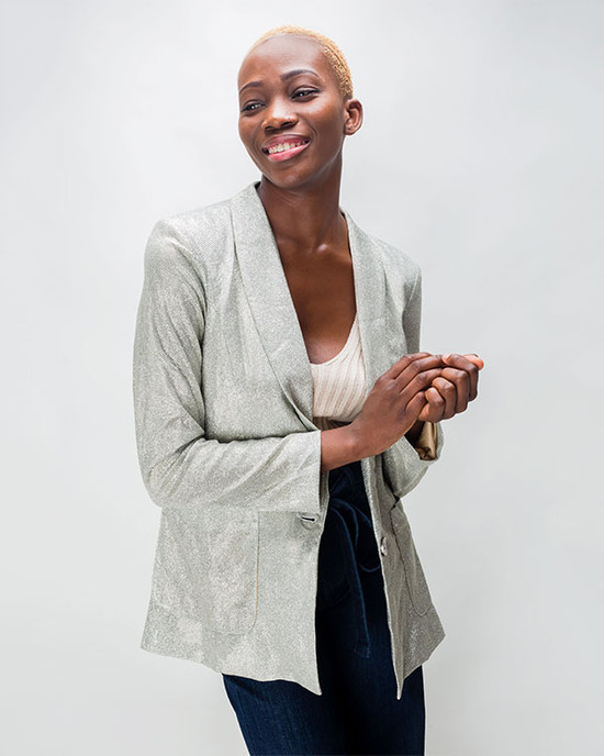 Love Central Casual Slim Blazer Jackets