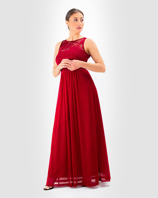 Super Girl Maxi Dress Red
