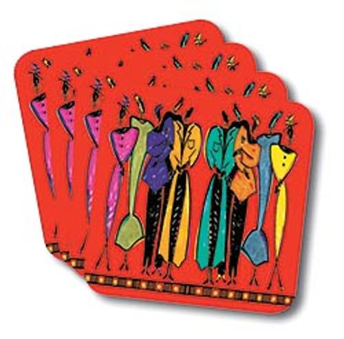 Attitude Coasters (African American Coasters)