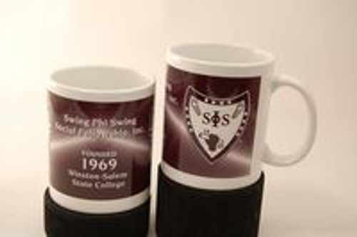 Swing Phi Swing Coffee Mug (African American Fraternity-Sorority Mug)