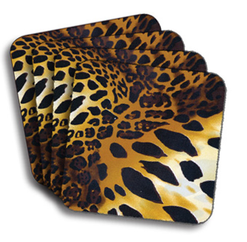 Cheetah Print Coasters (African American Coasters)