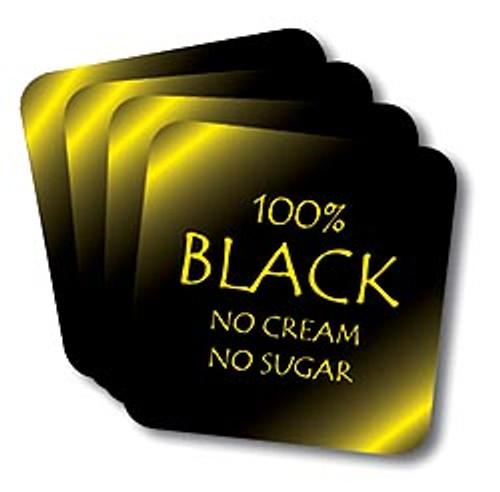 100% Black Coasters (African American Coasters)
