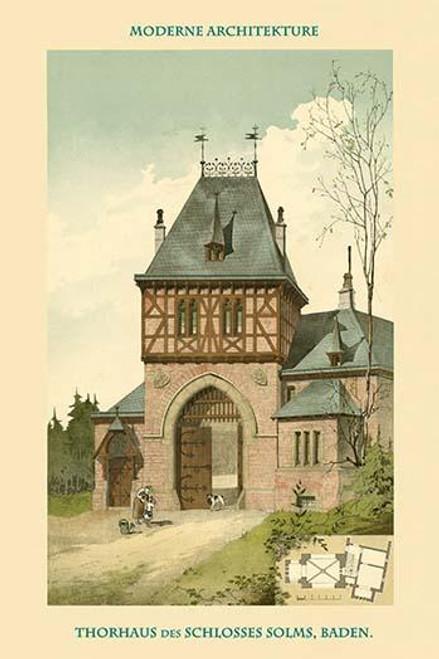 Gatehouse in Baden