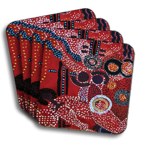 Dream Danc'n Coasters (African American Coasters)