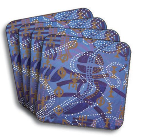 Ancestor Danc'n Coasters (African American Coasters)