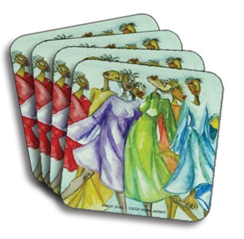 Danc'n Divas Coasters (African American Coasters)
