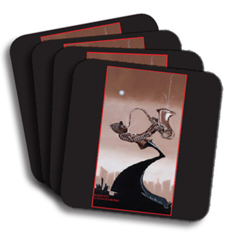 Feeling The Groove Coasters (African American Coasters)