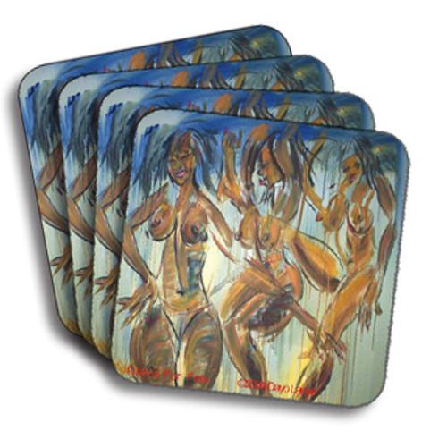 Dance Forfela Coasters (African American Coasters)