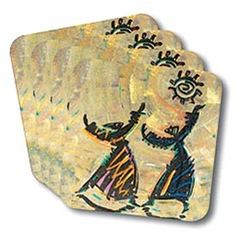 Give Thanks Coasters (African American Coasters)
