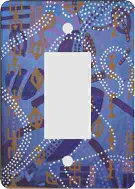 Ancestor Danc'n Rocker Switch Plate (African American Rocker Switch Plate)