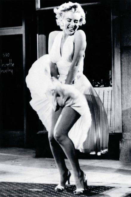 *Marilyn White Dress