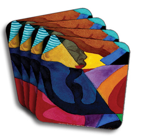 Healing Touch Coasters (African American Coasters)