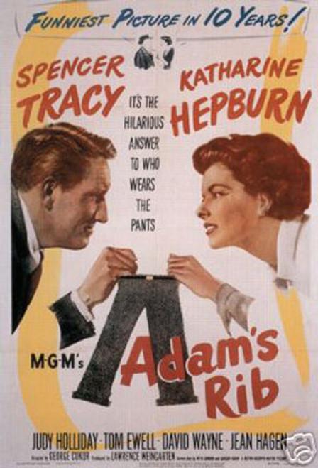 """Adam""""s rib Spencer Tracy Katharine Hepburn"""