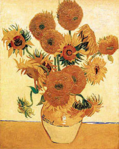 Vase With Sunflowers1