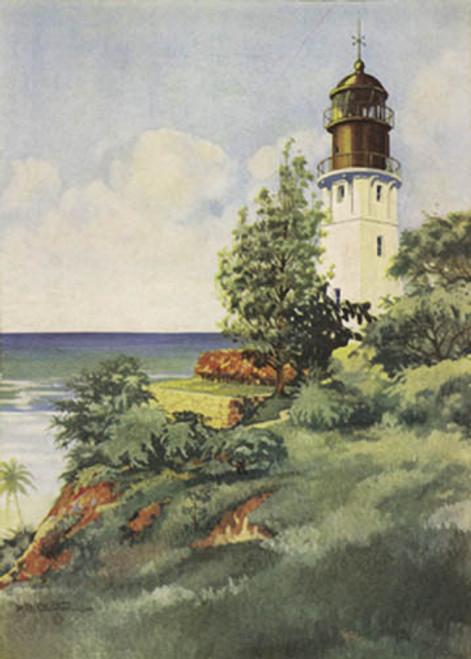 Lighthouse At Diamond Head1
