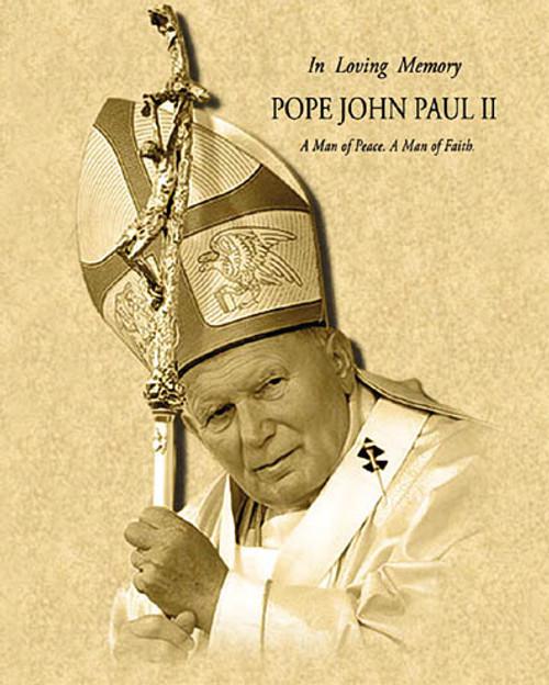 Pope John Paul II Parchment1