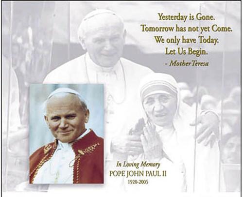 Pope John Paul II Mother Teresa1