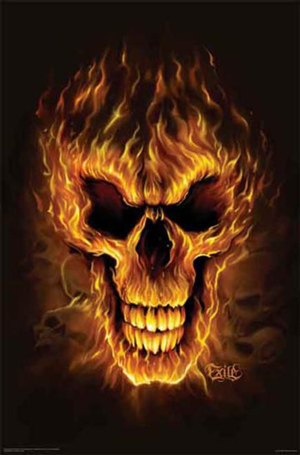 Flame Skull2