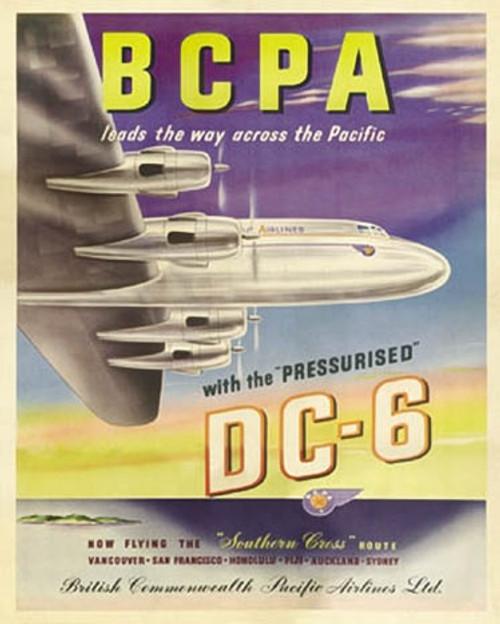 BCPA DC-6 Plane1