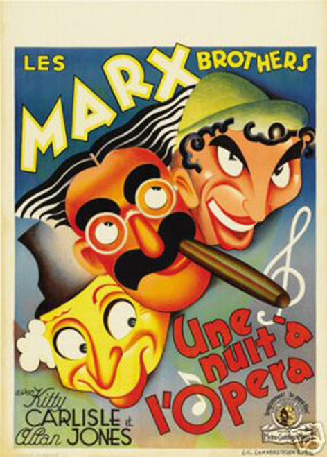 A night at the opera Marx Brothers1