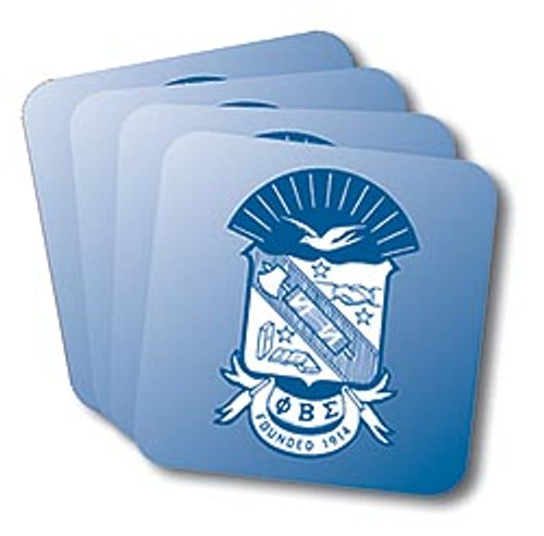 Phi Beta Sigma Coasters (African American Fraternity-Sorority Coaster)