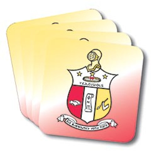 Kappa Alpha Psi Coasters (African American Fraternity-Sorority Coaster)
