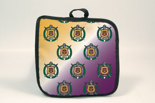 Omega Phi Psi Hot Pad (African American Fraternity-Sorority Hot Pads)